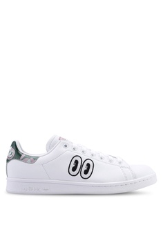 best service f015f 9cb0b adidas white adidas originals stan smith sneakers 32572SHA542950GS1