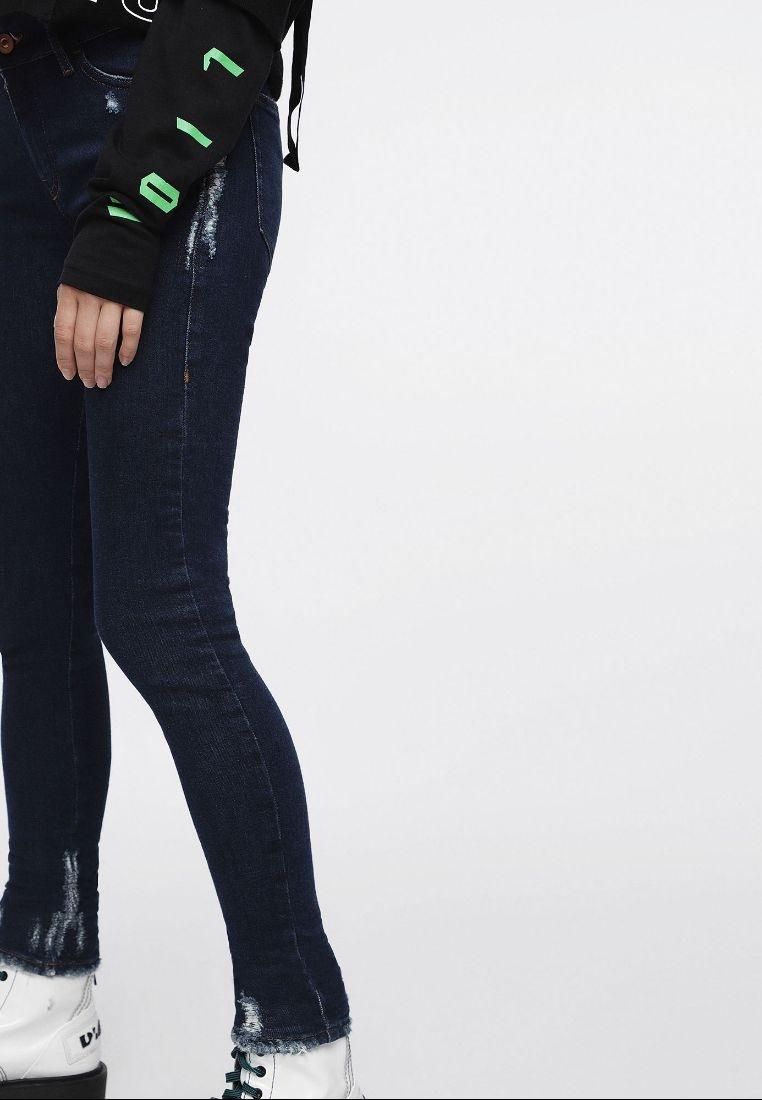 Fit Super Skinny Diesel Slandy Blue Jeans BwTc6q