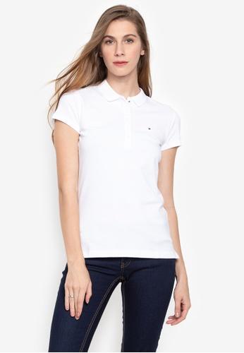 31b1a8a0 Shop Tommy Hilfiger New Chiara Polo Shirt Online on ZALORA Philippines