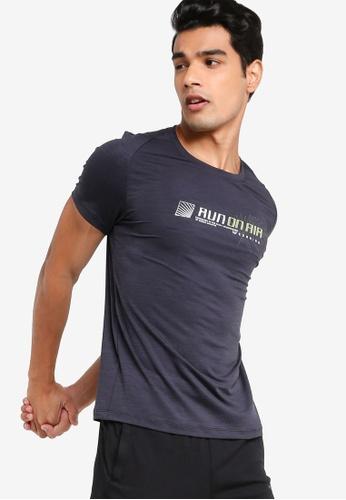 361° black Running Series Short Sleeves T-shirt B891BAA29547F3GS_1