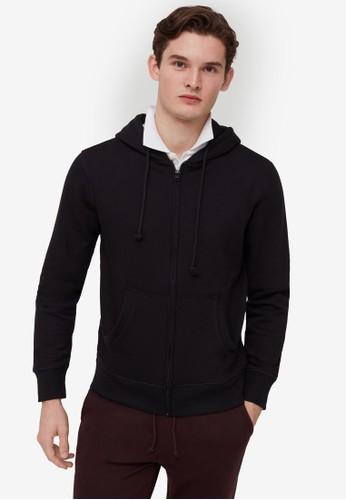 OVS grey Full-Zip Sweatshirt 94C3EAAFFBDF1DGS_1