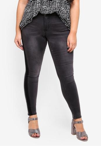 Junarose grey Five Slim Dark Grey Jeans ADE32AA5525A37GS_1