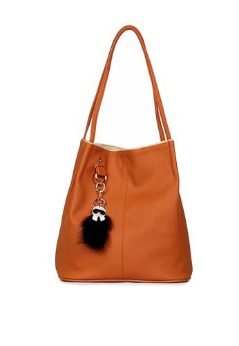 Ceviro brown Conity Cute Tote Bag Bata E6277AC35F37F6GS_1