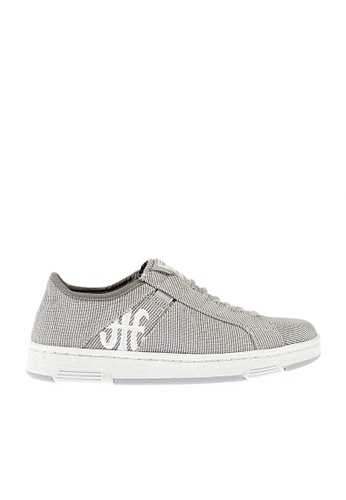 Royal Elastics grey Icon Washed Nylon Sneakers RO796SH2UYKXHK_1