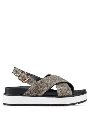 Rubi 多色 Grace Xover Flatform Sandals 35240SHBEE4D42GS_1
