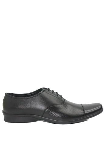 Dr. Kevin black Dr. Kevin Men Dress & Bussiness Formal Shoes 13395 - Black ED009SH4B7246BGS_1