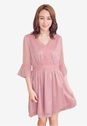 Shop YOCO Laser Cut-Out Detail Dress Online on ZALORA Philippines ac120162b
