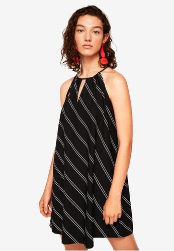Mango black Halter Neck Dress 2696EAAEAFF646GS_1