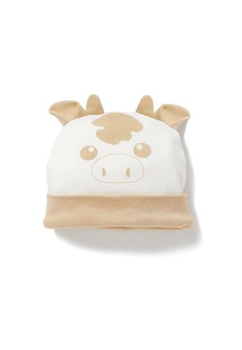 Vauva white Vauva My MY Milk Fiber 3D Cow Hat 820F1KC7CCB4D6GS_1