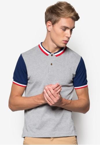 條紋滾邊色塊POLO 衫, 服飾, Pol尖沙咀 esprito衫