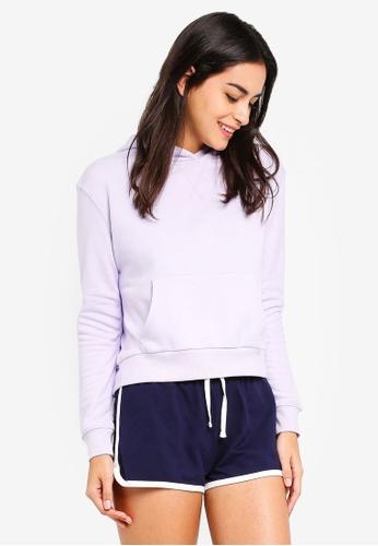 6IXTY8IGHT purple Basic Hoodie E69B5AA3990A82GS_1