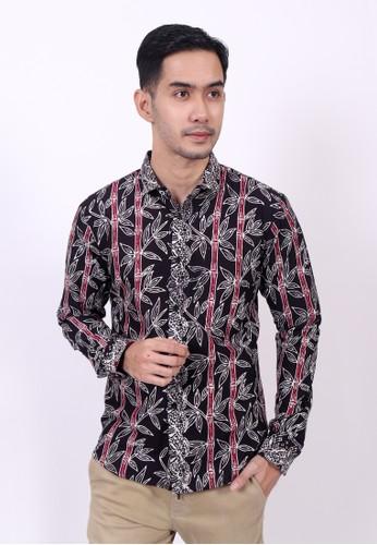 ENOM black and red Dinochloa Shirt 900BBAA94A89A2GS_1