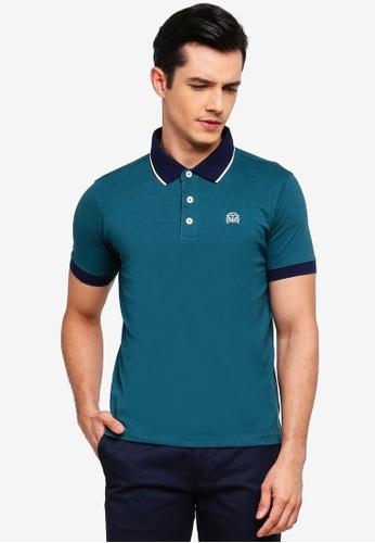 Volkswagen 綠色 短袖POLO衫 2C2C5AAE428BCFGS_1