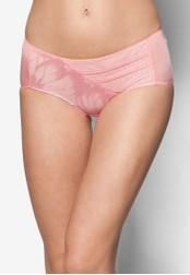 Impression pink Lace Panty IM021US46QFLSG_1