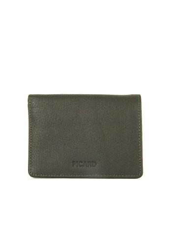Picard green Picard Buffalo Bifold Wallet in Khaki 229DCAC24D88AEGS_1