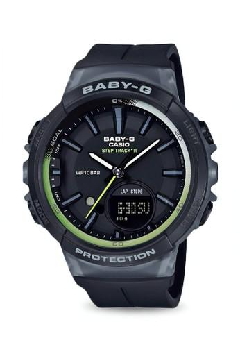 Baby-G black Casio BABY-G Jam Tangan Wanita - Black - Resin - BGS-100-1ADR 6B518ACEE89629GS_1
