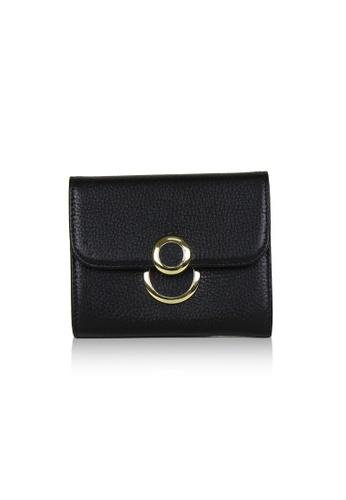 Dazz black Calf Leather 8 Wallet - Black DA408AC0S9JRMY_1