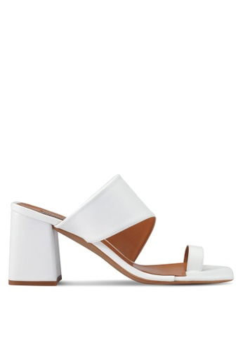 TOPSHOP white Nimble Mule Heels TO412SH0SRS1MY_1