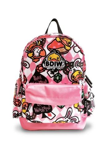 B.Duck pink B.Duck Kids Backpack (34cm) 3647CKC97A2A07GS_1