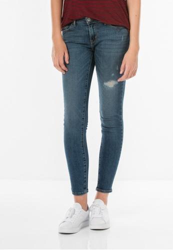 Levi's blue 711 Skinny Jeans LE843AA0FG2KSG_1