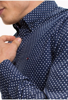 6e5be41e 30% OFF Tommy Hilfiger SLIM URBAN MULTI PRINT SHIRT S$ 179.00 NOW S$ 125.30  Sizes S M