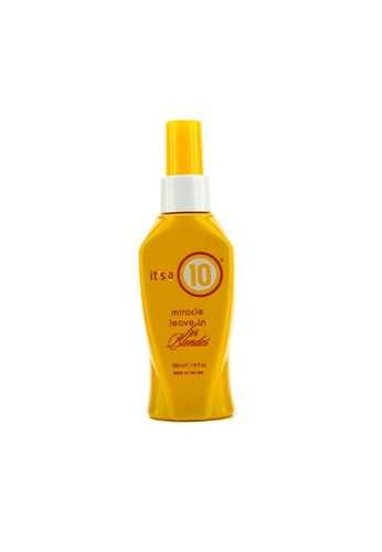 It's A 10 IT'S A 10 - Miracle Leave-In (For Blondes) 120ml/4oz 499EDBE3ED3FBDGS_1