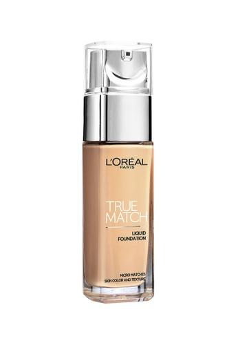 L'Oréal Paris beige L'Oreal Paris True Match Liquid Foundation SPF16 [#G4 Gold Beige] LO618BE38NRTMY_1