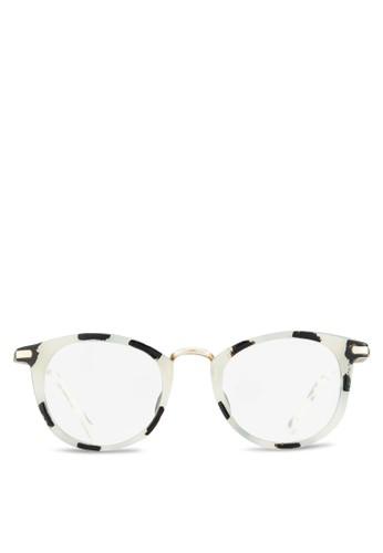 韓系時尚平光眼鏡, 飾品配件,zalora taiwan 時尚購物網鞋子 飾品配件