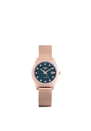Tomaz Tomaz Ladies's Watch TQ016L (Rose Gold/Navy) 5DAEBACF199B78GS_1