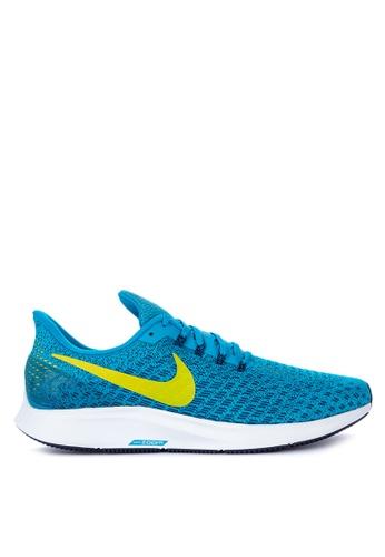 Nike yellow and blue Men's Nike Air Zoom Pegasus 35 Running Shoes 1365FSH280E779GS_1