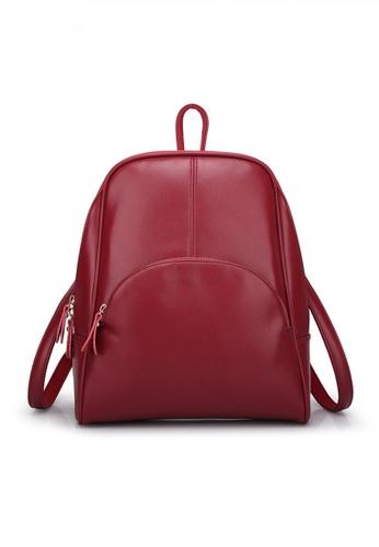 Twenty Eight Shoes Minimalist Chic Faux Leather Backpack JW CL-C551 9F30EACC7F5695GS_1