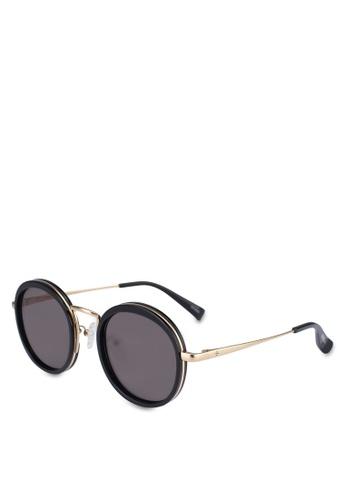 BLANC & ECLARE black Kyoto Sunglasses FCF4BGLE7C1F33GS_1