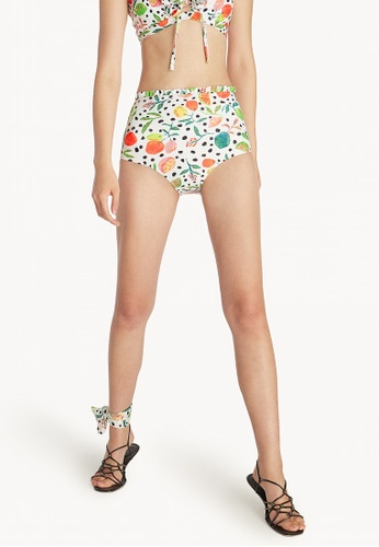 Pomelo white Artist Collab Frill Bikini Bottom - White F8C3FUS8C3CA9CGS_1