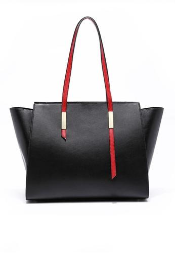 Twenty Eight Shoes black VANSA Cow Leather Tote Bag VBW-Tb01022 12DD4ACDC325DEGS_1