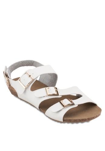esprit outlet 台中扣環帶休閒涼鞋, 女鞋, 涼鞋