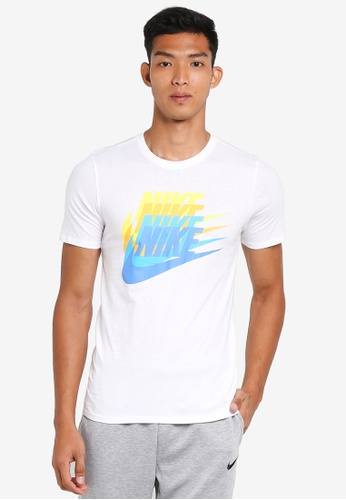 Nike white Men's Nike Sportswear T-Shirt 6C7FAAA467CD32GS_1