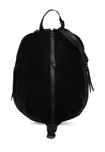 Desigual black Faux Leather Effect Backpack 74145AC4479E83GS_1