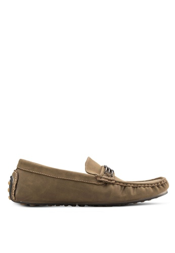 Louis Cuppers brown Casual Loafers LO977SH04AYDMY_1