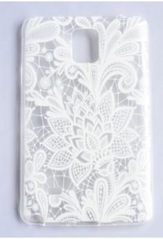 Flower Web Case for Samsung Note 4