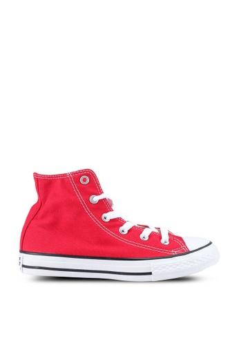 Converse 紅色 Chuck Taylor All Star Hi Sneakers 51F7FKS8D50ECCGS_1