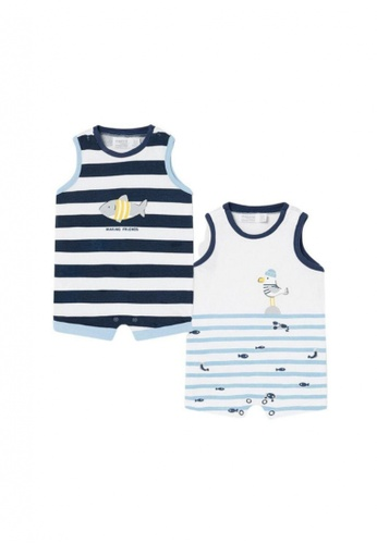 RAISING LITTLE multi Nomati Romper 611B5KAE6E55F4GS_1