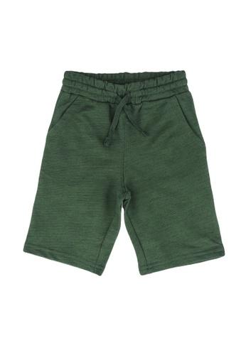 LC Waikiki green Boy's Cotton Roller Shorts CF58DKA4F0BBA5GS_1