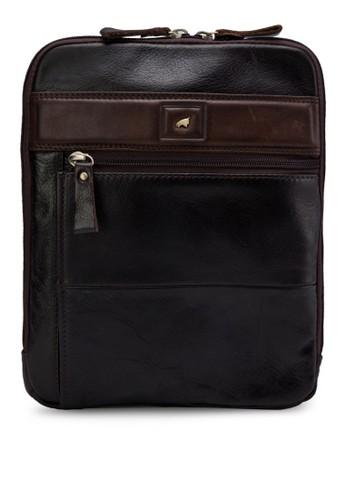 拉鍊皮革胸包, 包, 飾品esprit outlet 香港配件