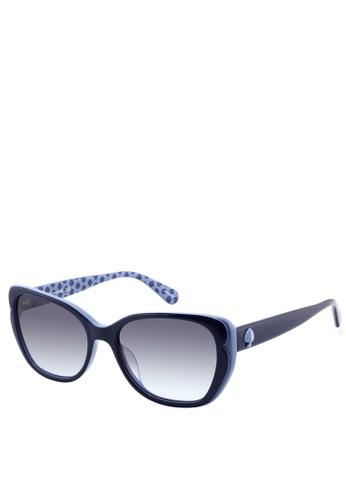 Kate Spade blue Augusta/G/S Sunglasses 58DBBGL3EACB5DGS_1