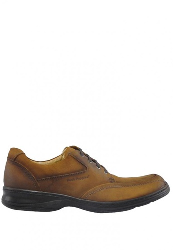 Hush Puppies brown Mikhail Casual Shoes HU326SH20NUXPH_1