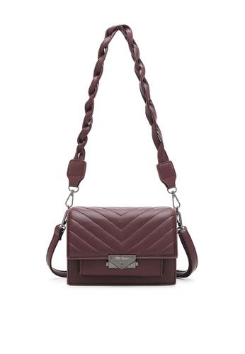 Wild Channel red Women's Sling Bag / Shoulder Bag / Crossbody Bag 38104ACAECE86BGS_1