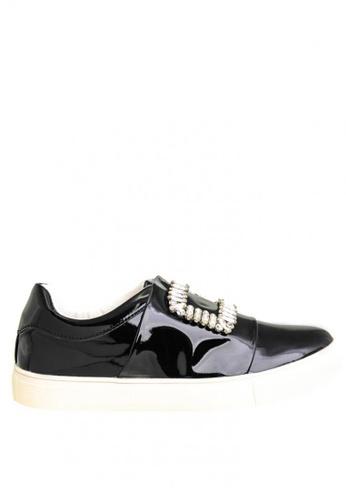 BENCH black Embellished Sneakers BE550SH0JXQIPH_1