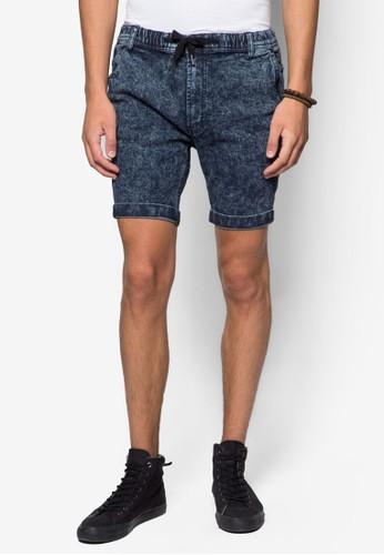 Apollo 彈性水洗丹寧短褲esprit服飾, 韓系時尚, 梳妝