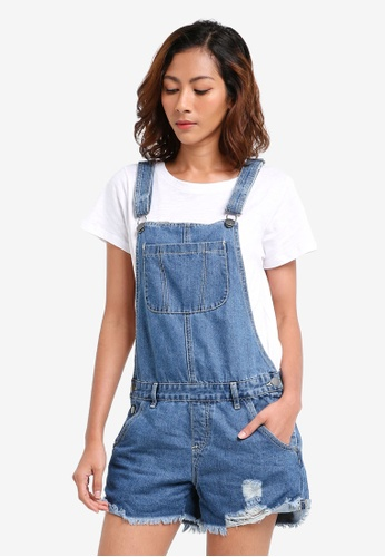 Cotton On blue The Classic Overall BE046AA0F39144GS_1
