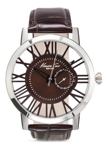 Kenneth Cole 10020811 手錶esprit 香港, 錶類, 皮革錶帶